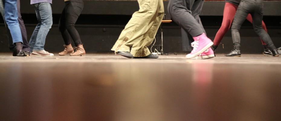 waltzing feet